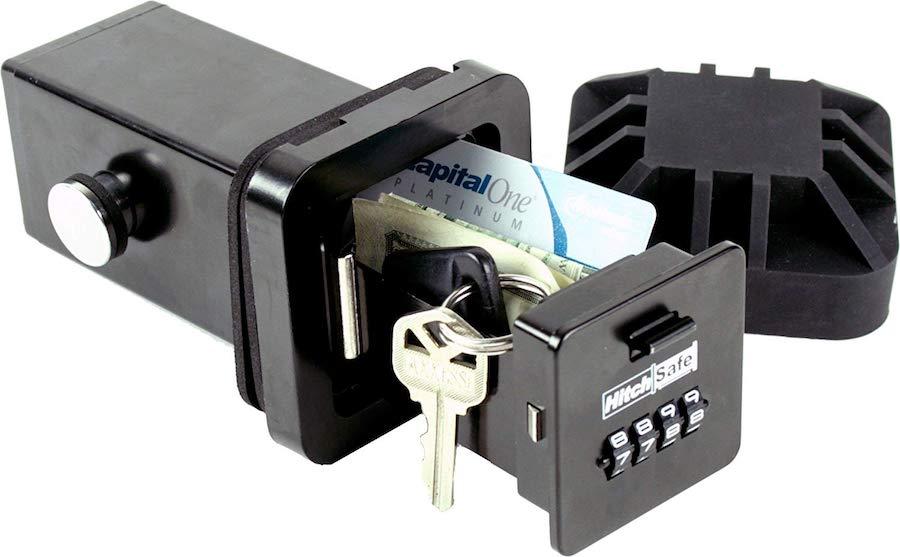 hitch safe key lock