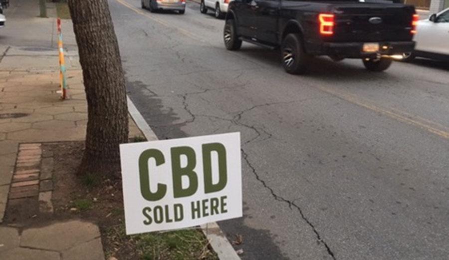 CBD sign in Atlanta