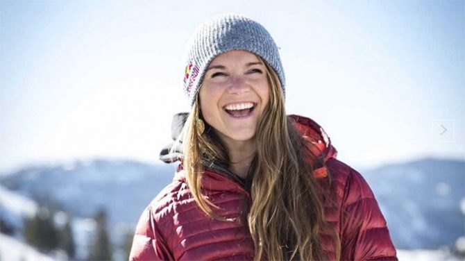 Michell Parker is the world's best freeskier