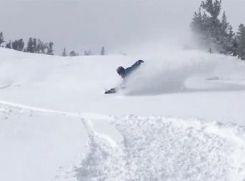In December, the snow in Lake Tahoe was deep and dry and there's more on the way.