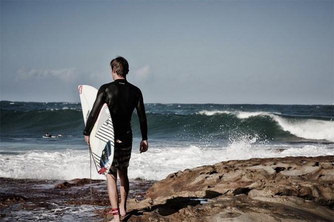 Surfers are often concerned with what they lack instead of how lucky they are to be surfers.