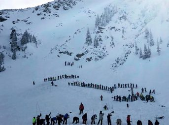 An avalanche in newly-opened terrain at Taos Ski Valley buried two, killing one.
