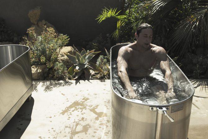 Zach Weisberg Laird Hamilton Ice Bath