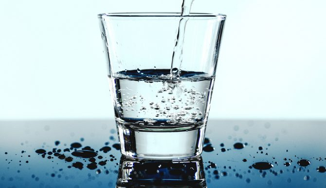 Drink water. It's simple, but important. Photo: Rawpixel