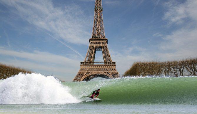 Kelly Wave Pool in Paris? Oui, oui!