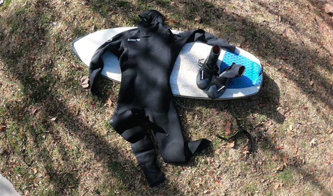 I tested Ben Gravy's 5/4 Hyperflx VRYL Suit