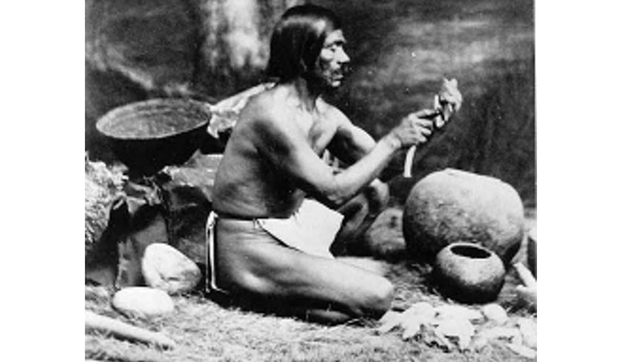 Chumash Indian in California