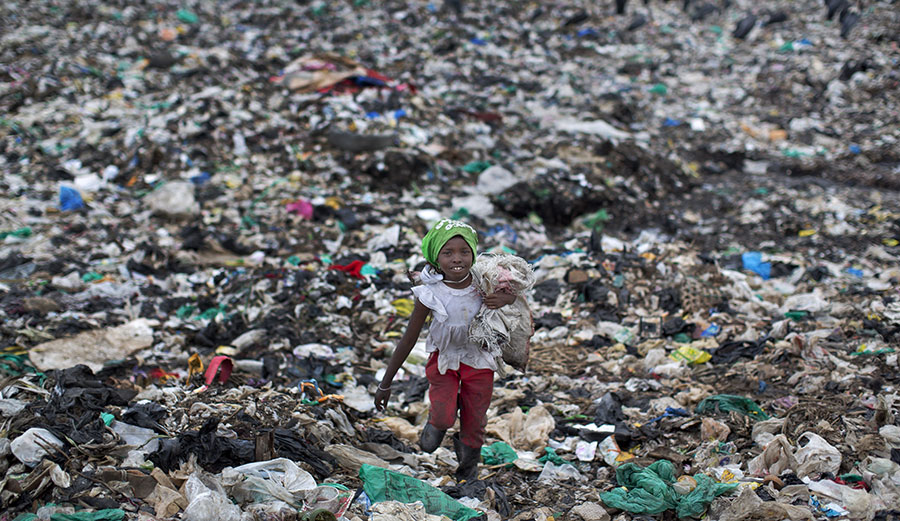 Dandora slum of Nairobi, Kenya