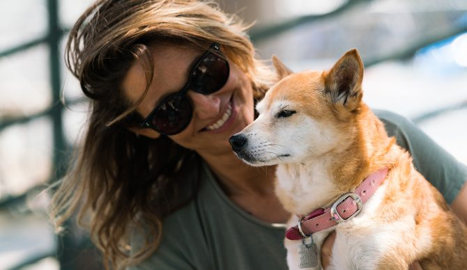 Kassia Meador Venice Dog