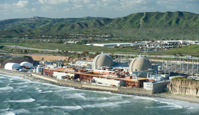 Under the current model, spent fuel might not begin to be transported away from San Onofre until 2035. Photo: Southern California Edison