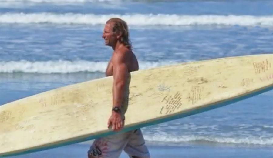Kevin Eslinger at Sunset Cliffs