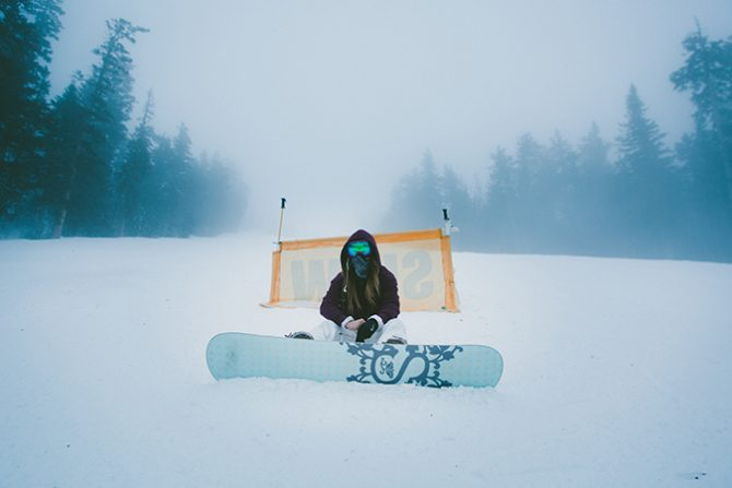 Snowboarding is so segmented these days