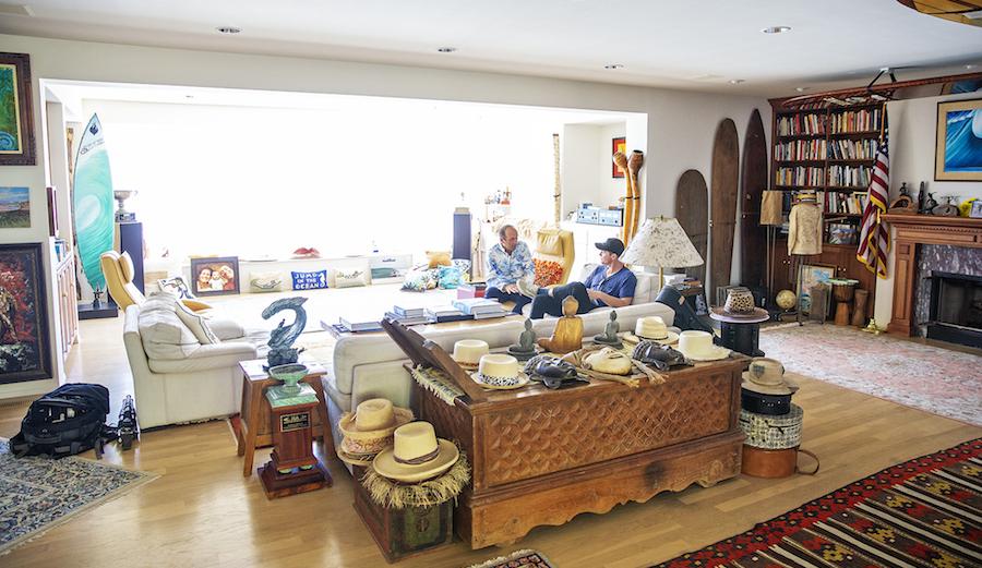 Fernando Aguerre in his La Jolla home.
