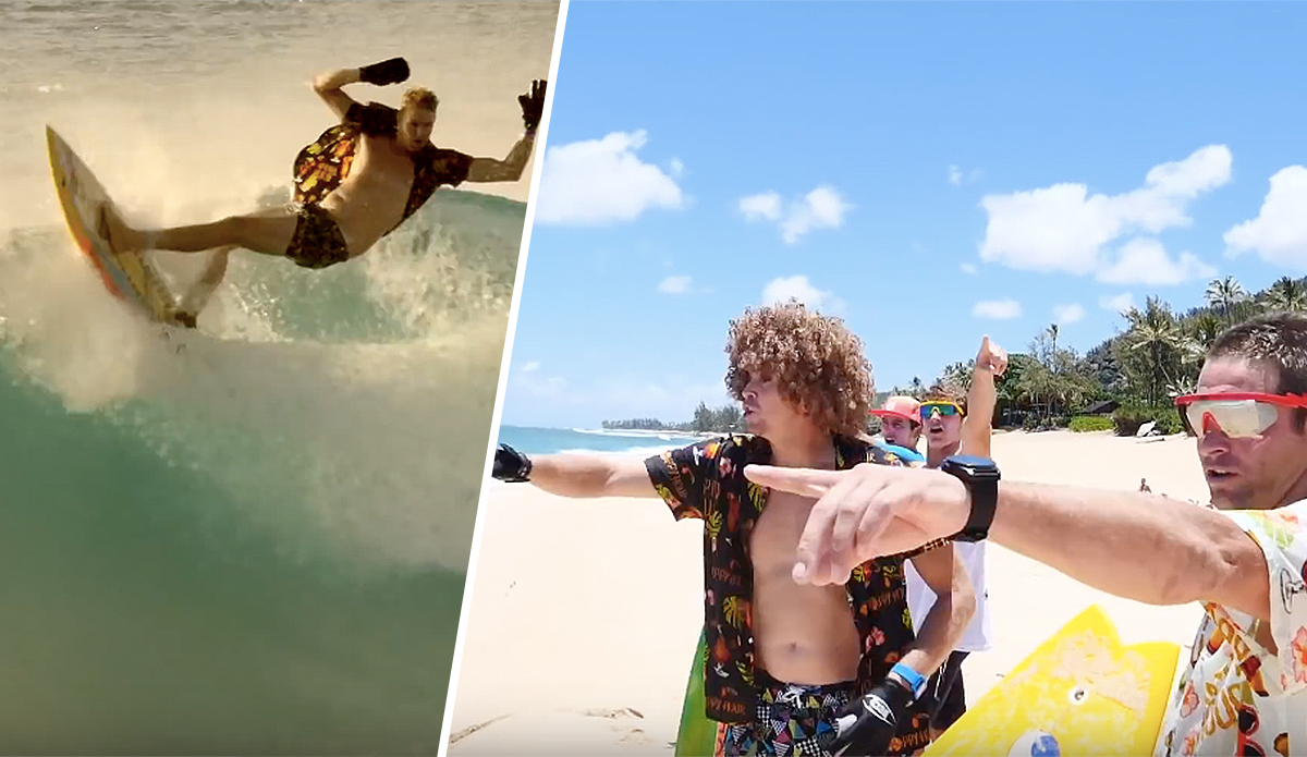 This Is What Surfing Pipe in the '80s Looked Like (According to Jamie O'Brien)