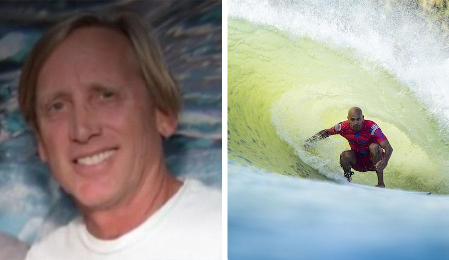 Jeff Bizzack Kelly Slater wave pool