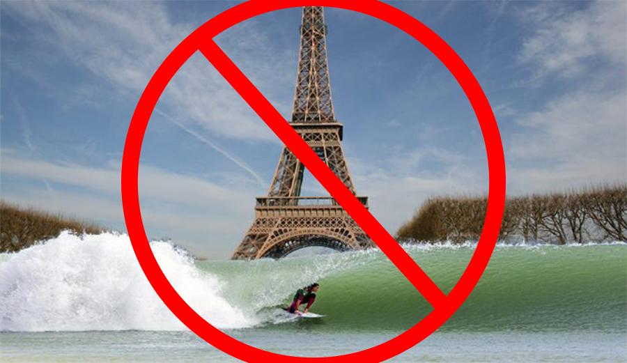 Paris wave pool
