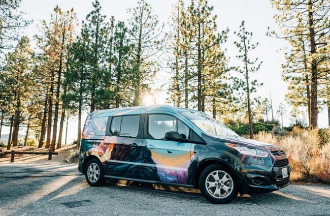 Rent vans with Escape Camper Vans