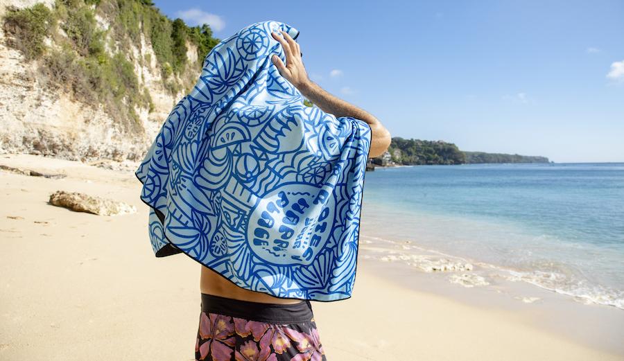 Sanuk X Surfrider X Nomadix towel