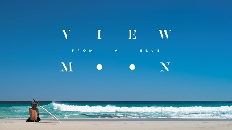 View From a Blue Moon Movie Art