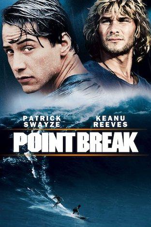 Point Break movie art