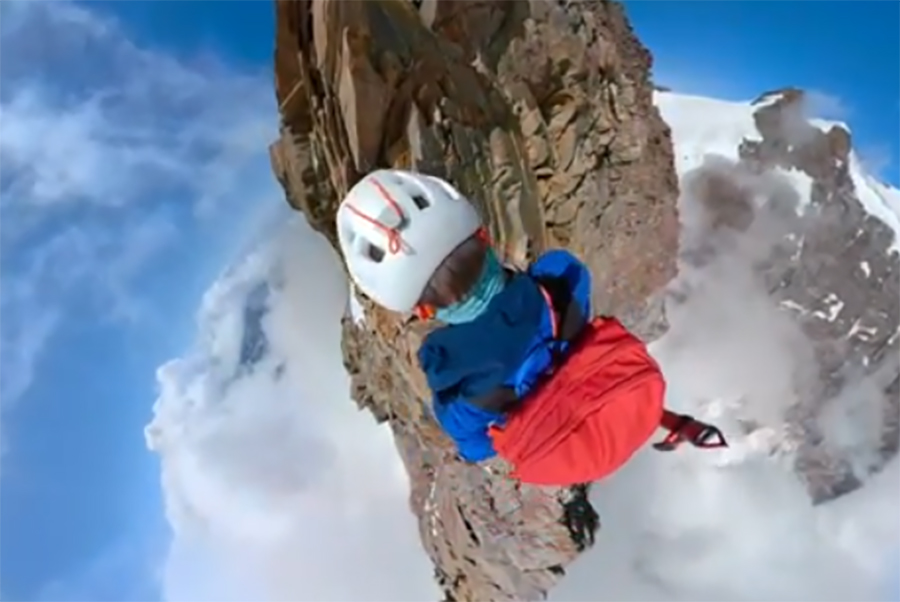 This View of Climbing in the Italian Alps Might Just Blow Your Mind