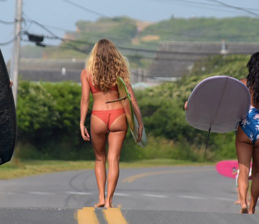 Swimsuits women can actually surf in