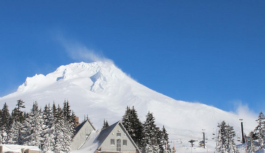 Oregon's Mt. Hood.