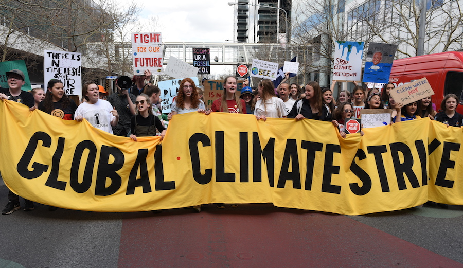 Millions Protest Climate Change: There's No Plan(et) B
