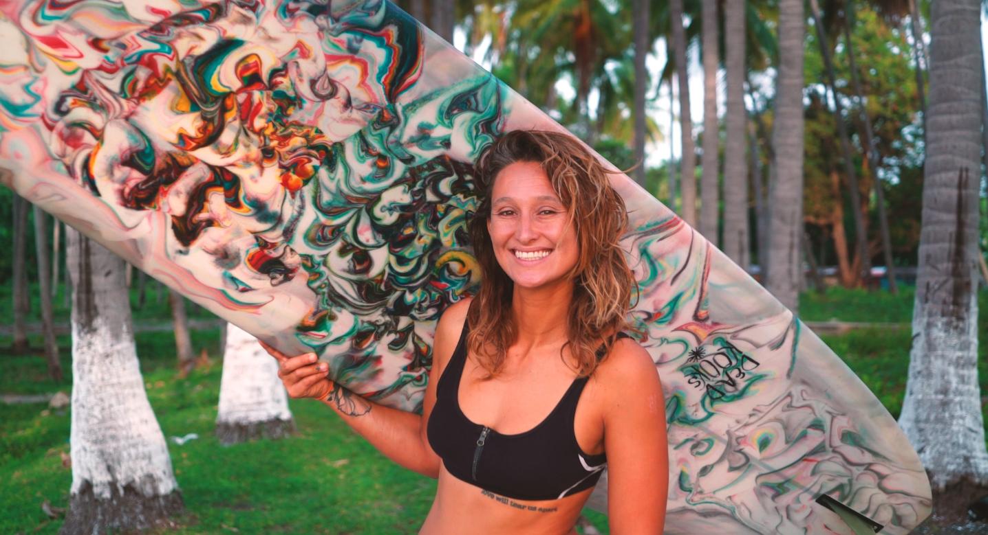 Kassia Meador Longboarder Portrait