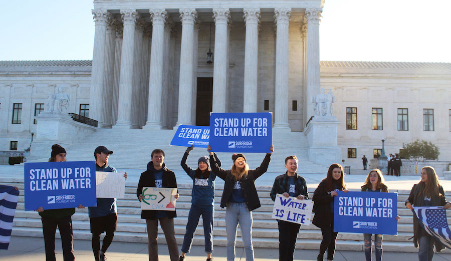 Surfrider at the U.S. Supreme Court to protect clean water