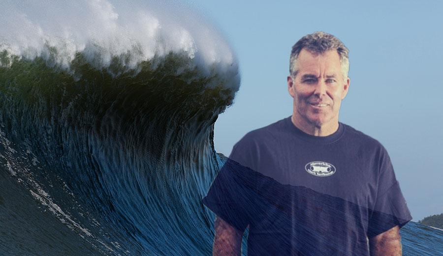 Jeff Clark on the Mavericks Surf Awards