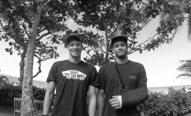Nathan and Ivan Florence Talk Injuries, John John's Quick Return from ACL Surgery, and Ivan's New Movie