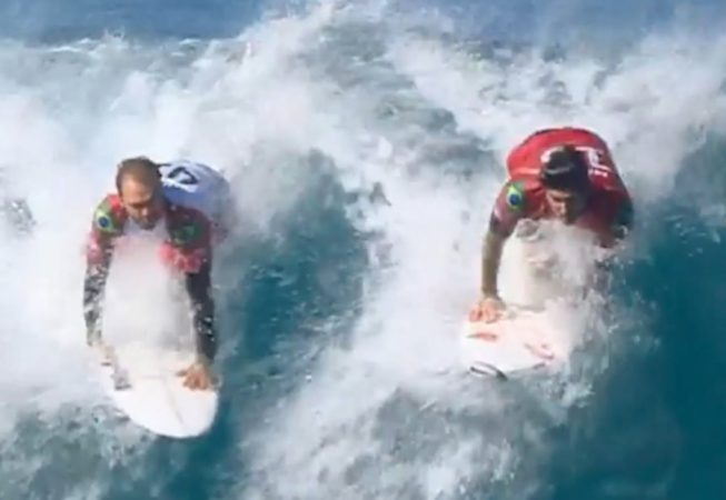 Gabriel Medina Just Pulled the Most Genius Snake in the History of the Sport