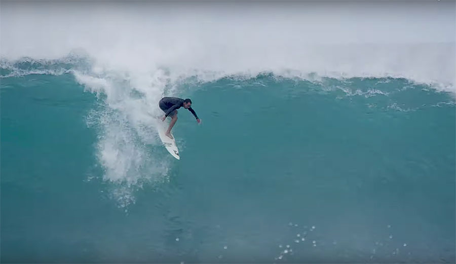4 Minutes of Hair-Straight-Back Surfing That'll Have You on the Edge of Your Seat