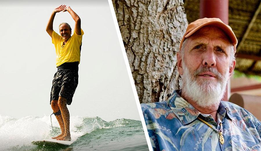 Surfing Swami surfing