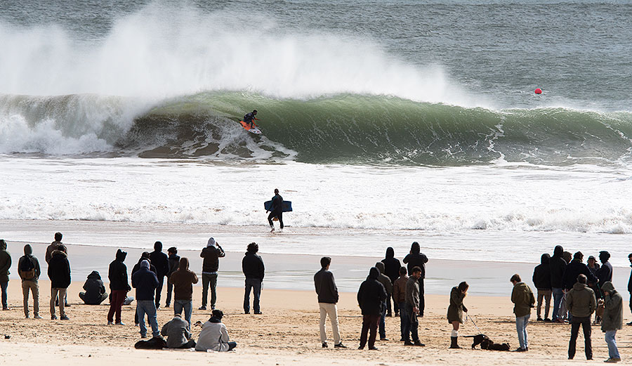 Bruno Santos in action at Carcavelos