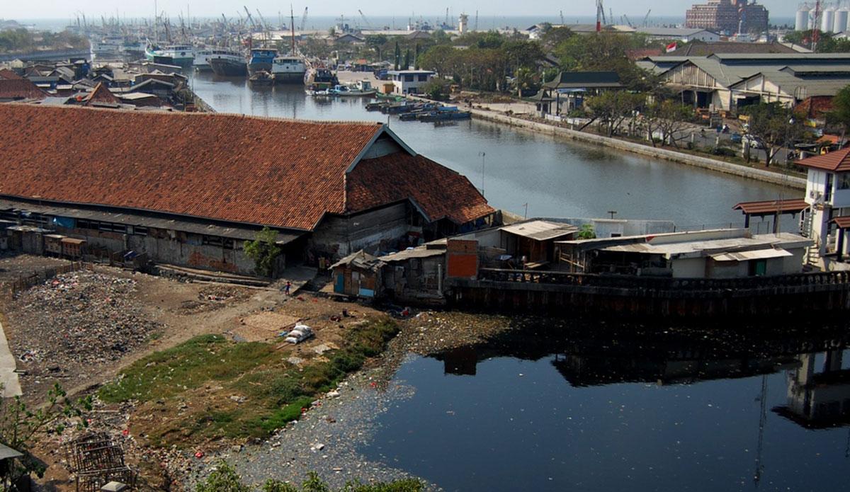Ciliwung River, Indonesia