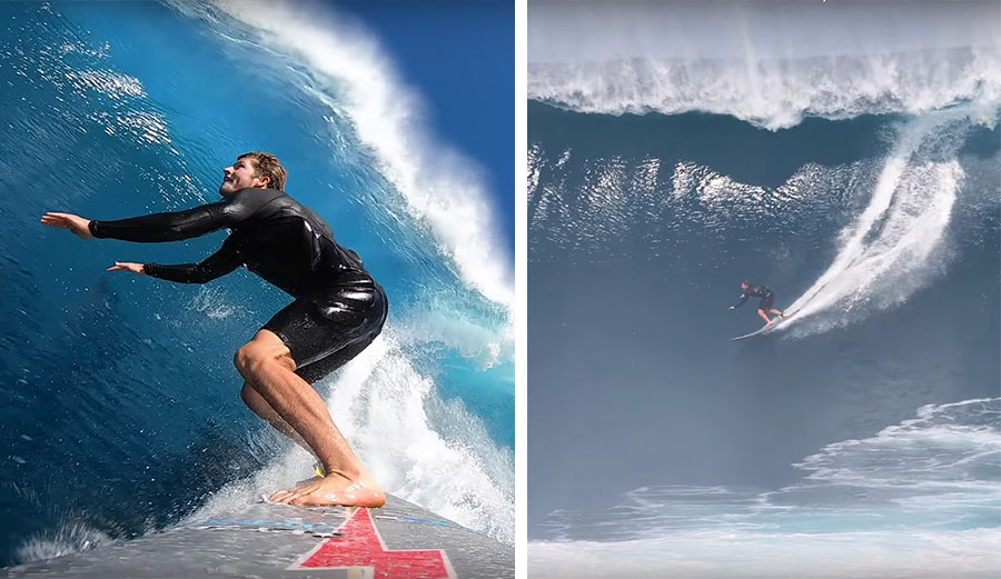 Witness the Most Incredible Jaws Session with Nathan Florence