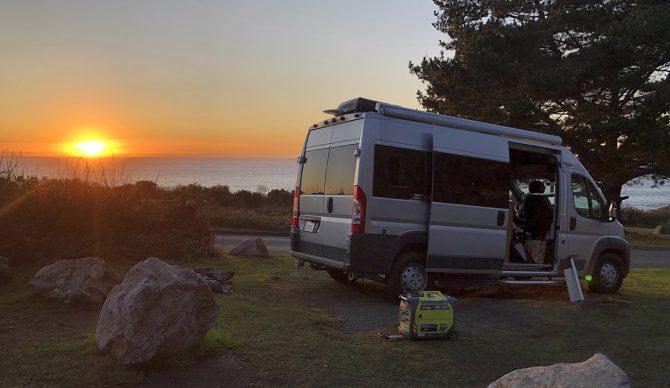 Kirk Creek Camping Spot Big Sur