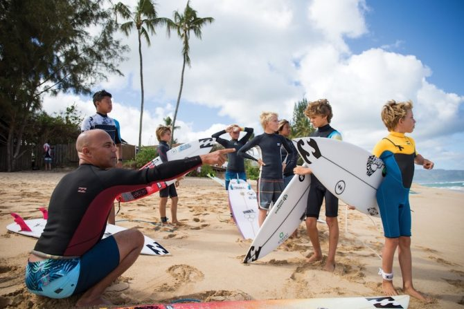 An Inside Look at the Bloodlines Camp as the Next Generation of Surf Stars Learns to Navigate the North Shore