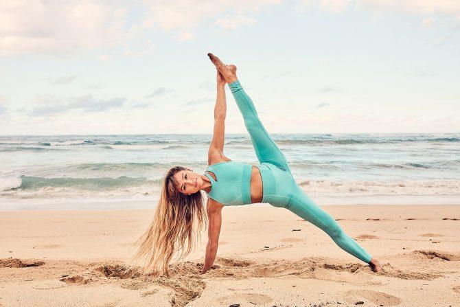Tia Blanco Yoga Stretch