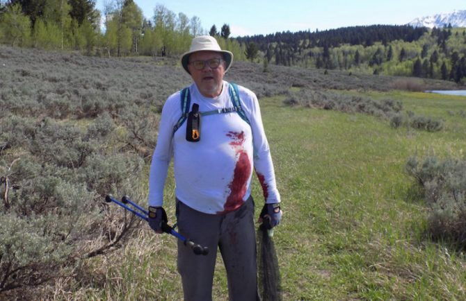 This 73-Year-Old Man Fought Off a Grizzly Attack in Eastern Idaho