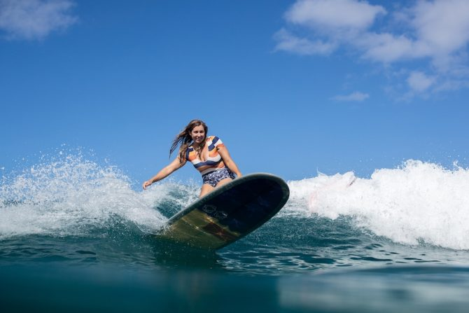 Lauren Hill Talks About Her New Book 'She Surf' and Making Women's Stories Central