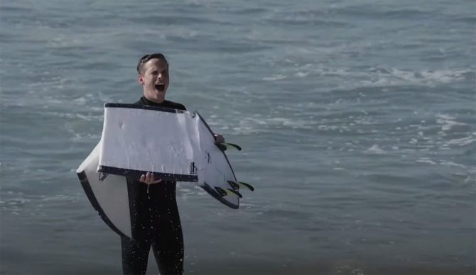 Surfcare Broken Surfboard DIY Ding repair