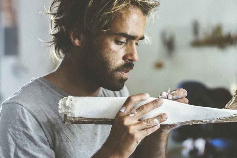 Johny Vieira surf art