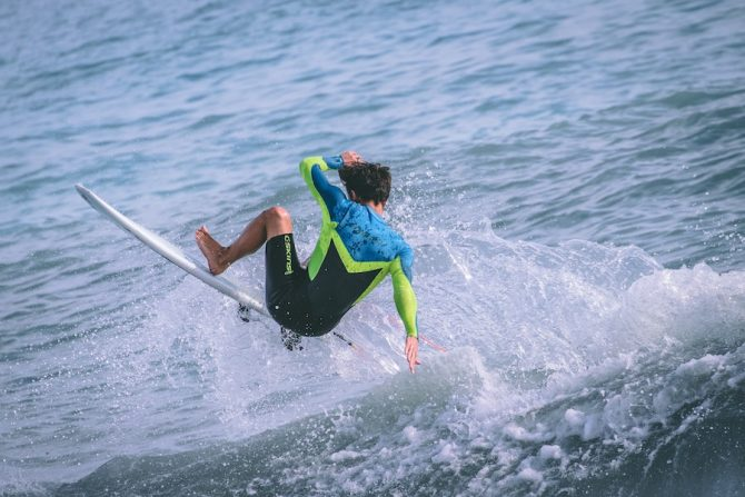 90 Days of Punishment: Learning to Surf on a Shortboard