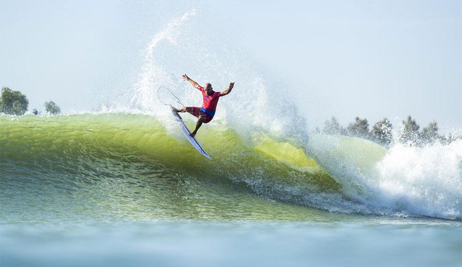 Kelly Slater at Surf Ranch