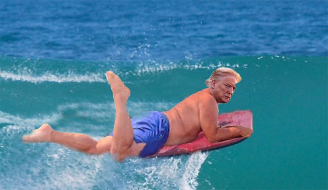 If Political Figures Surfed, Here's What They Would Ride
