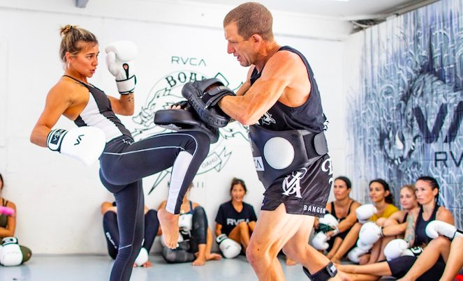 Surfing's Heavy Hitters Train at the Boar's Nest Gym, North Shore