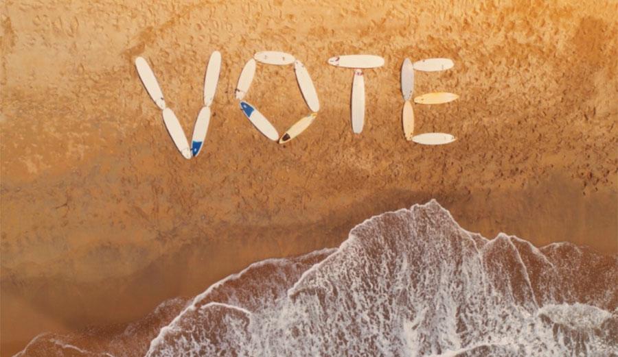 Voting surfers